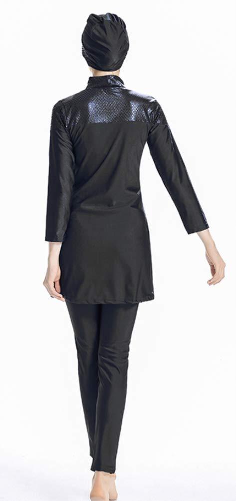 Costume TianMai Nuovo Musulmano Costumi da bagno per Donne islamico Hijab Modesto Costume da bagno Pieno Copertina Nuoto Beachwear Nuotare Completo da uomo SPF 50