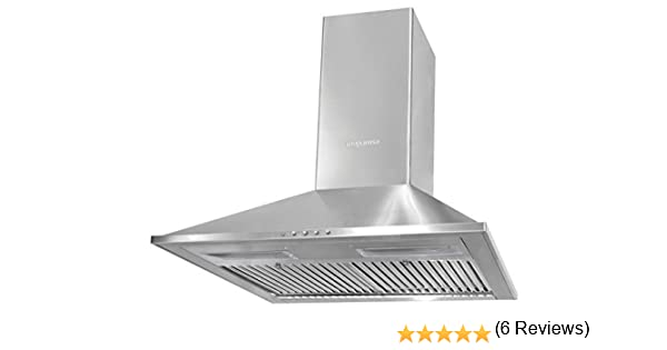 Mepamsa Topaz Plus 60 Campana aspirante decorativa de pared de inox: 132.36: Amazon.es: Hogar