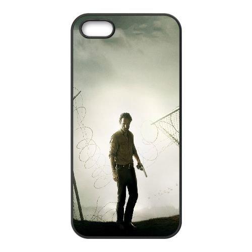 Andrew Lincoln Sheriff Rick Grimes The Walking Dead 93659 coque iPhone 5 5S cellulaire cas coque de téléphone cas téléphone cellulaire noir couvercle EOKXLLNCD21634