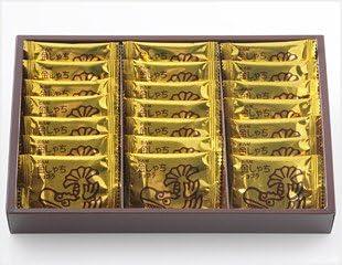 コロンバン 名古屋 金しゃちショコラ (21枚入)×2箱【ギフト包装・手提げ袋なし】