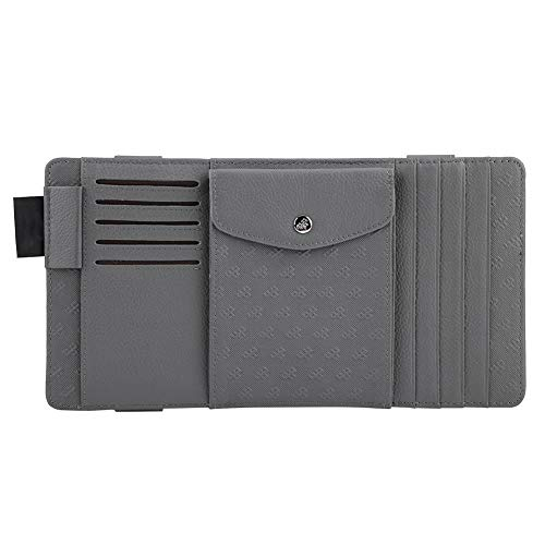 WBXHZYDGJ 1 Pcs Car CD Storage Bag Holder Case Sun Visor Clip Organizer for Cards Sunglasses Car Accessories