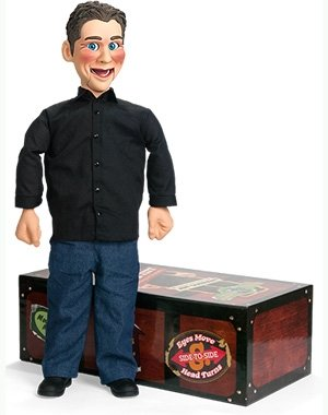 Jeff Dunham ''Little Jeff'' Actual Working Ventriloquist's Dummy with DVD by NECA