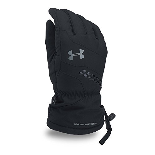 Under Armour Men's UA Mountain Glove, Black (001)/Graphite, Large
