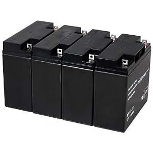 Powery-Batería de repuesto recargable para USV APC Smart-UPS SMT2200I, 12, v Lead Acid-Batería de plomo de []