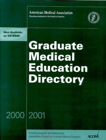 Graduate Medical Education Directory 2000-2001