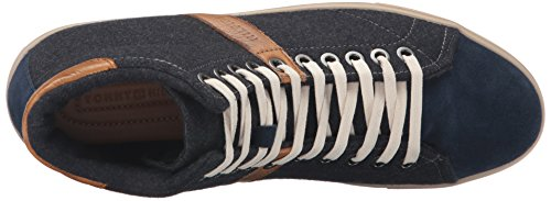 Tommy Hilfiger Mens Midvale Fashion Sneaker Grigio