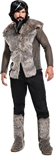 Rubie's Men's Zoolander 2 Derek Faux Fur Coat Costume, Multi, -