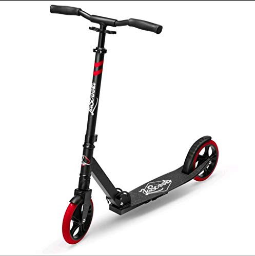 Lascoota Scooters for Kids 8 Years and up - Featuring Quick-Release Folding System - Dual Suspension System + Scooter Shoulder Strap 7.9' Big Wheels Great Scooters for Adults and Teens