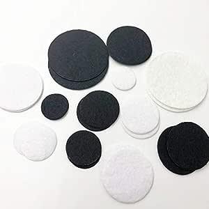 amazon com patches the mix size 50pcs felt circle