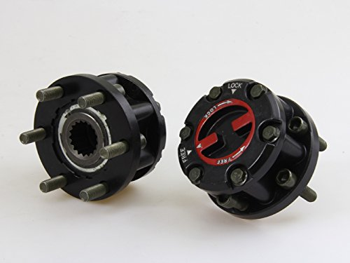 (Manual Free Wheeling Hubs Lock and Bearing Pair Fit ISUZU TF TFR RODEO PICKUP TRUCK;1988-2002)