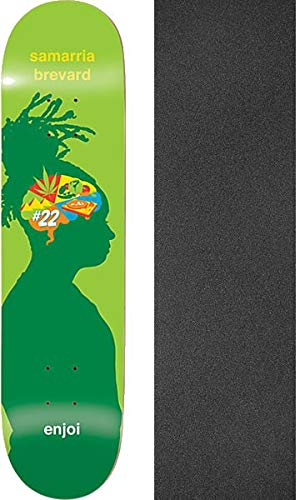Enjoi Skateboards Samarria Brevard 31.6インチ ブレインウェーブ スケートボードデッキ 樹脂 B07K3XCYHL 7-8インチ x 樹脂 31.6インチ モブグリップ穴あきグリップテープ付き - 2つのアイテムのバンドル B07K3XCYHL, 東海つり具:b7170d13 --- grupocmq.com