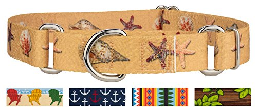 Country Brook Petz | Seashells Martingale Dog Collar - ()
