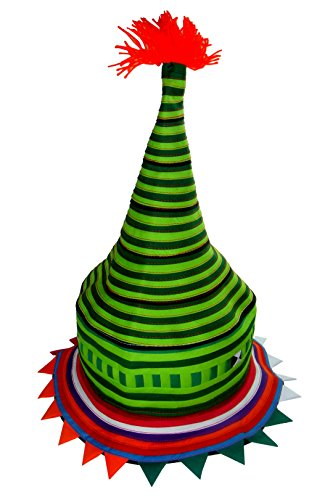 Tribal Hats Party Favors - Colorful Hat Accessories (Lisu 128) (Crazy Costumes For Kids)