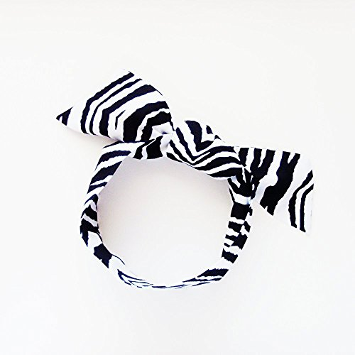 Zebra Head Scarf / ME2Designs Multipurpose Cotton Scarf Tie or Adornment