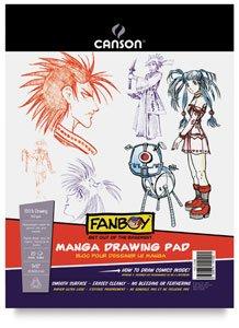 Canson Fanboy Paper Manga Drawing Pad 9215;12 (20 Sheets)