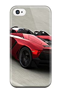 Awesome Lamborghini Aventador J 16 Flip Case With Fashion Design For Iphone 4/4s