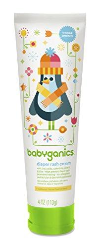 BabyGanics Crème pour érythème fessier, 4 oz Tube (Pack de 2)