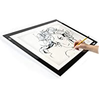 Litup Light Box Light Pad L15.63x W11.81 Tracing Light Box Drawing Light Board Light Table for Animation Sketching Artcraft- LP-B4