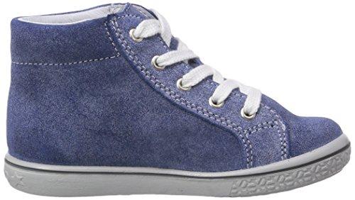 Ricosta Mario Unisex-Kinder Hohe Sneakers Blau (enzian/silber 173)