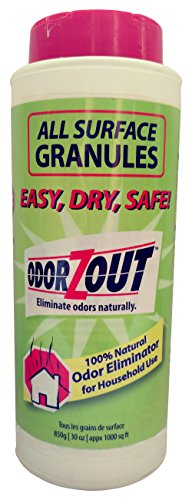 ODORZOUT All Surface Odor Removal Granules, 30 oz. (850g) Bottle by ODORZOUT