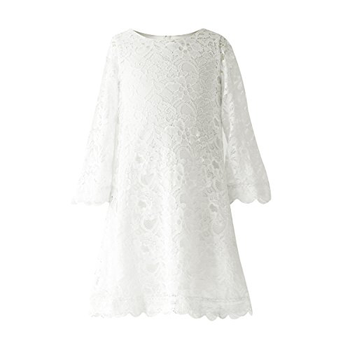 ivory 2t flower girl dress - 9