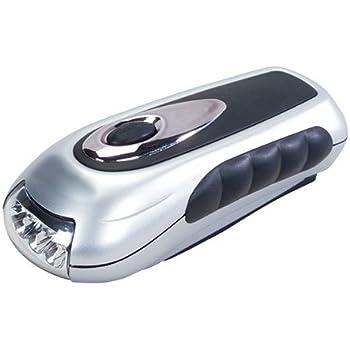 Dynamo Illuminator Wind Up Led Flashlight Basic Handheld