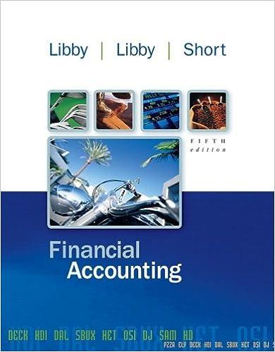 Financial accounting robert libby patricia libby daniel g short financial accounting robert libby patricia libby daniel g short 9780072931174 amazon books fandeluxe Choice Image