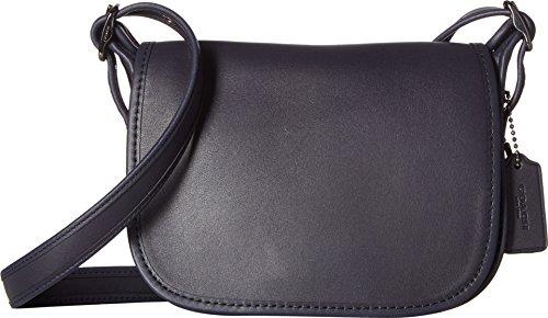 COACH Womens Glovetanned Leather Saddle