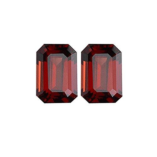 8.20 Cts of 10x8 mm Emerald Matching Loose Garnet (2 pcs set) Gemstones