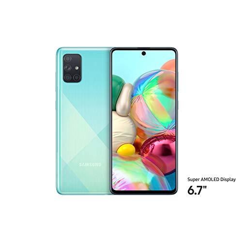 Samsung Galaxy A71 Dual SIM 128GB 8GB RAM 4G LTE (International Version) - Blue