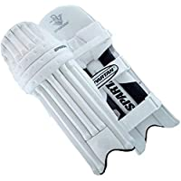 Spartan Diamond Batting Pads, Adult-Unisex, White, Pack of 2