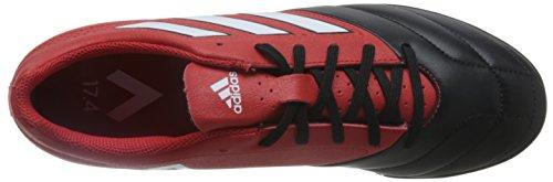 Adidas Ace 17.4 Tf, pour les Chaussures de Formation de Football Homme, Rouge (Rojo/Ftwbla/Negbas), 44 EU