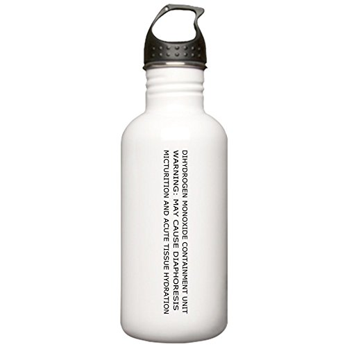 CafePress Dihydrogen Monoxide Containment Stainless