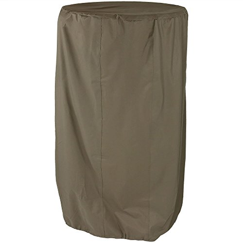 Sunnydaze Khaki Outdoor Water Fountain Cover, 56 Inch Diameter, 68 Inch Tall Review