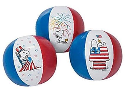 Amazon.com: Cacahuetes en todo el mundo Snoopy pelotas de ...