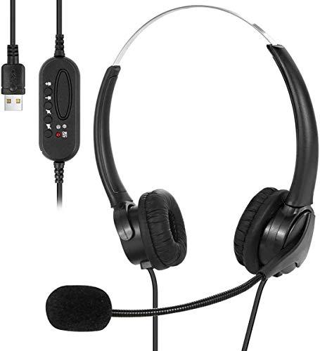 🥇 Auriculares USB con micrófono