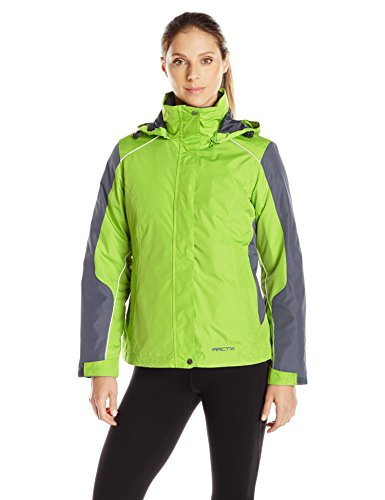Winters Muse - Arctix Women's Petite Muse Interchange 3-in-1 System Jacket, Grass, Small