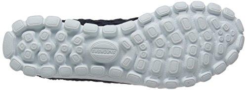 888222896898 - Skechers Sport Women's EZ Flex 2 Tada Fashion Sneaker, Navy/Silver, 10 M US carousel main 2