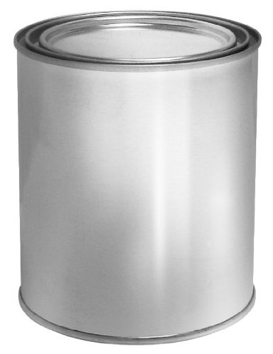 Sunnyside Empty Metal Lined Quart Can with Lid