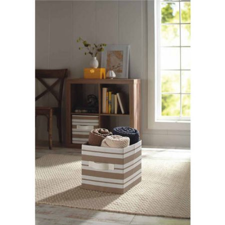 better-homes-and-gardens-collapsible-fabric-storage-cube-100-polyester-1-tan-stripe