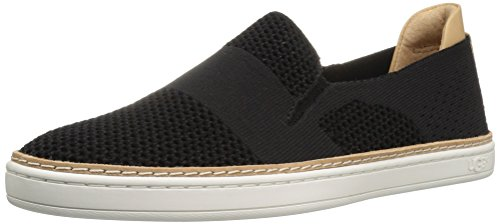 UGG Women's Sammy Fashion Sneaker, Black, 10 B US