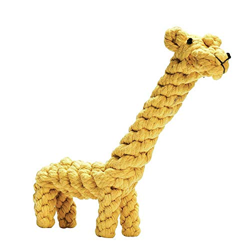Dog Rope Toy Set Puppy Pet Chew Training Animal Design Durable Interactive Toys Dental Health Teeth Cleaning Toy for Small Medium Dog Biting Toys