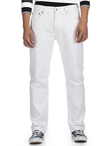 Vaquero Blanco Optic Relaxed Hombre Deyllo para 7CdTwTq