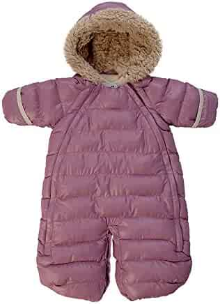 65c1b5494 7AM Enfant Doudoune One Piece Infant Snowsuit Bunting, Lilac, Large