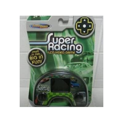 Super Racing LCD Video Game by Techno Source: Toys & Games