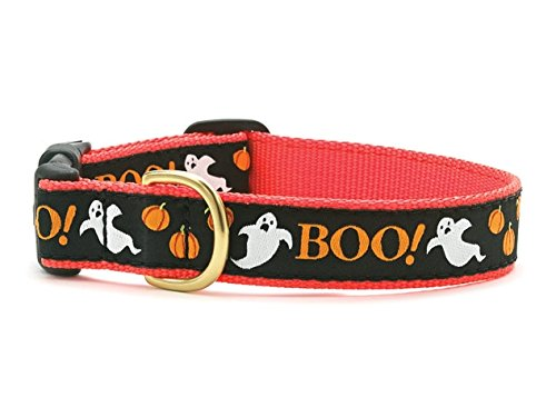 Up Country Boo Dog Collar (Large (15-21