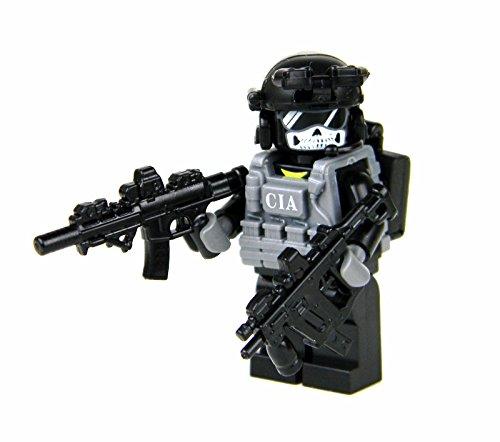 (Battle Brick CIA Ghost SAD/SOG Commando (SKU8) Custom Minifigure)