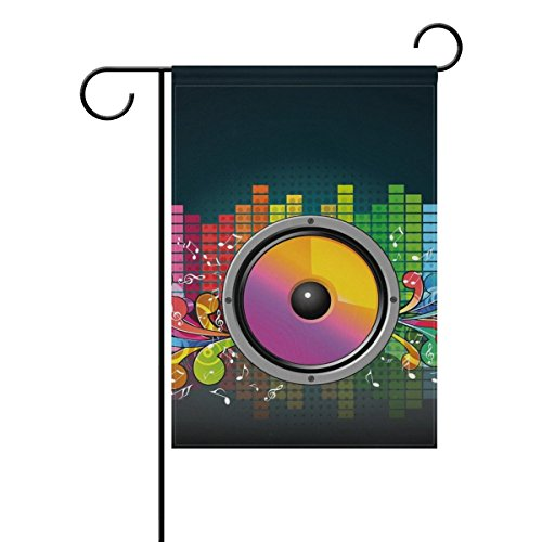 home decorative double sided speakers