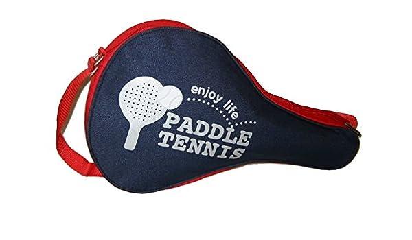 Amazon.com : Paddle Tennis Racket Bag Racquet Holder 2pcs ...