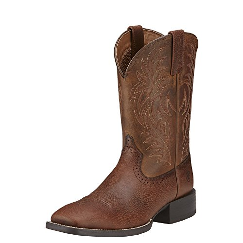 Mens Riding Boots Brown - 6